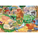 Galt Feely Floor Puzzle – Farm