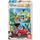 Educa Puzzle Mickey Mouse House Club 2 x 25