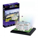 CubicFun Puzzle 3D LED Casa Alba